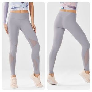 Fabletics Salar Mesh PowerHold® Legging Grey